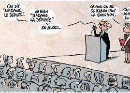 Retrouvez l'interview dans LaCroix : «Assemblée nationale, la Parole aux Femmes».