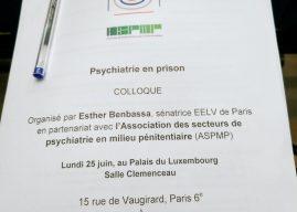 Colloque Psychiatrie en  Prison