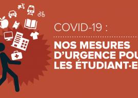Coronavirus : La France insoumise propose ses mesures d'urgence pour les étudiant·es