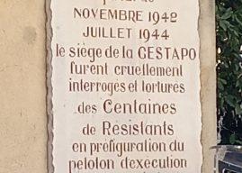77 ème anniversaire de la libération à Montpellier