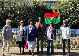 Rassemblement à Montpellier pour l'ouverture du procès de l'assassinat de Thomas Sankara alors président de la république du Burkina Faso en 1987