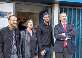 Rencontre avec les habitants du Petit-Bard et de la Pergola accompagné de M. Hugues Moutouh, préfet de l'Hérault